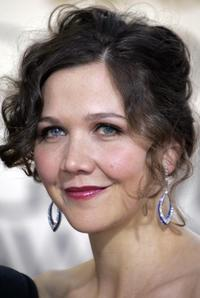 Maggie Gyllenhaal at the 64th Annual Golden Globe Awards.