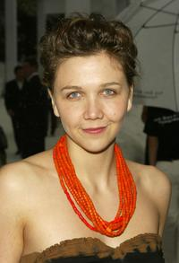 Maggie Gyllenhaal at the grand reopening of the New Museum.