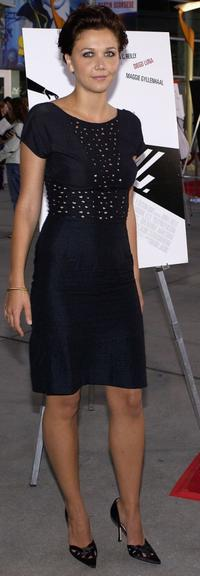 Maggie Gyllenhaal at the premiere of