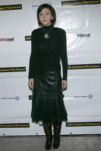 Maggie Gyllenhaal at the opening night of