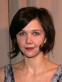 Maggie Gyllenhaal at the Miramax 2005 Golden Globes after party.
