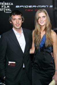 Lucas Haas and his girlfriend at the premiere of