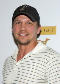 Marc Blucas at the Premiere Lounge after party of