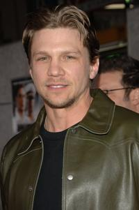 Marc Blucas at the premiere of