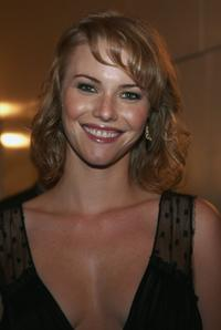 Melissa Sagemiller at the after party for the premiere of