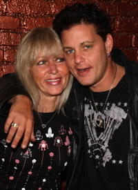 Corey Haim and his mother, Judy Haim at the A&E premiere of
