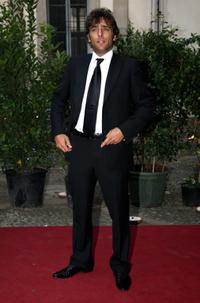 Adriano Giannini at the Uomo Vogue 40th Anniversary Celebration Party.