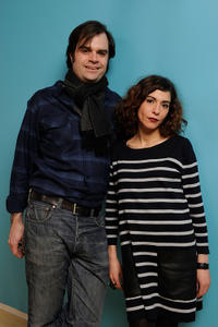 Director Braden King and Lubna Azabal at the portrait session of