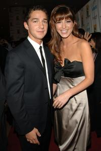 Shia LaBeouf and Mary Elizabeth Winstead at the Hollywood Film Festival 10th Annual Hollywood Awards Gala Ceremony.