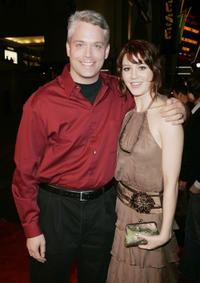 Producer Craig Perry and Mary Elizabeth Winstead at the premiere of