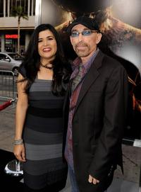 Amelia Cruz and Jackie Earle Haley at the California premiere of