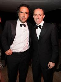 Alejandro Gonzalez Inarritu and Producer Jon Kilik at the