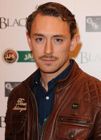 JJ Feild at the after party of 54th BFI London Film Festival.