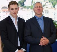 JJ Feild and Peter Greenaway at the photocall of