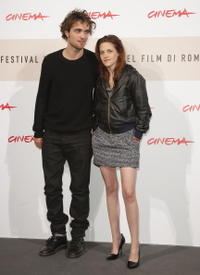 Robert Pattinson and Kristen Stewart at the photocall of