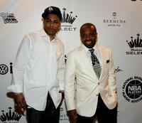 Nelly and Producer Jermaine Dupri at the 2007 NBPA All-Star Gala.
