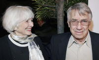 Phillip Baker Hall and his wife Holly at the premiere of