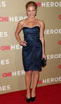 Katee Sackhoff at the CNN Heroes: An All Star Tribute in California.