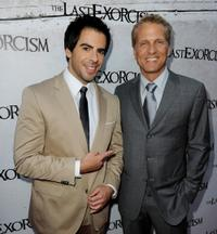 Eli Roth and Patrick Fabian at the screening of