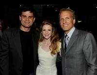 Jason Constantine, Ashley Bell and Patrick Fabian at the screening of