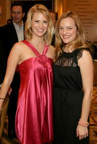 January Jones and Elisabeth Moss at the 8th Annual AFI Awards cocktail reception.