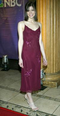 Lauren Stamile at the 2004 NBC Winter Press Tour All-Star Party.