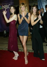 Lauren Stamile, Tricia Helfer and Christina Chambers at the 2004 NBC Winter Press Tour All-Star Party.