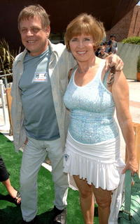 Mark Hamill and wife Marilou York at the DVD Release