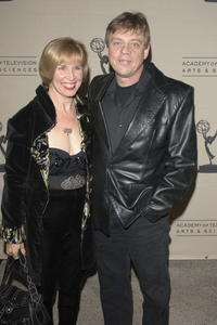 Mark Hamill and his wife Marilou at the Academy of Television Arts & Sciences, attend