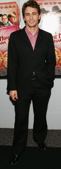 James Franco at the premiere of