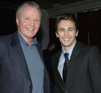 Jon Voight and James Franco at the after party premiere of