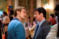 James Franco as Scott Smith and Sean Penn as Harvey Milk in