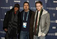 Nick Cannon, Director Neil Abramson and Matt O'Leary at the premiere of