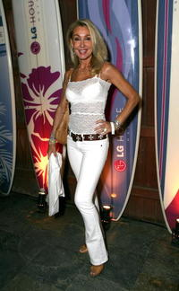 Linda Hamilton at the VH1 Back to School Party.