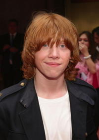 Actor Rupert Grint at the N.Y. premiere of