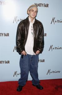 Will Rothhaar at the launch of Marciano.