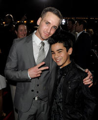 Will Rothhaar and Bryce Cass at the California premiere of