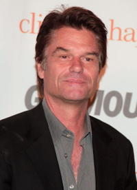 Harry Hamlin at the Glamour Reel Moments party.