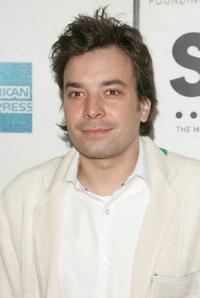 Jimmy Fallon at the opening night premiere of