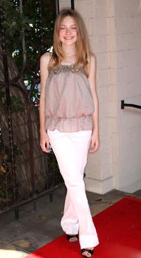 Dakota Fanning at the First Star's Fifth Annual Celebration for Children's Rights event.
