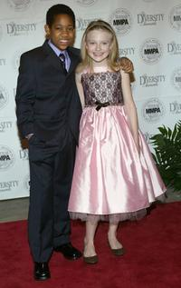 Tyler James Williams and Dakota Fanning at the MMPA's 13th Annual Diversity Awards.
