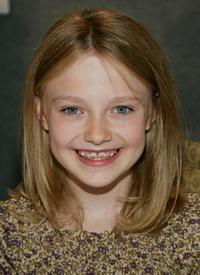 Dakota Fanning at the press conference of