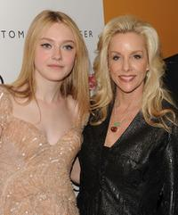 Dakota Fanning and Cherie Currie at the New York premiere of