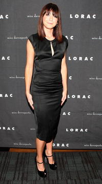 Alyson Hannigan at the LORAC/miss davenporte Showstopper Launch party.