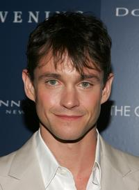 Hugh Dancy at the after-party for the premiere of