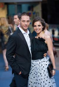 Tom Hardy and Charlotte Riley at the world premiere of