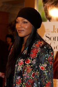 Nona Gaye at the Los Angeles premiere of