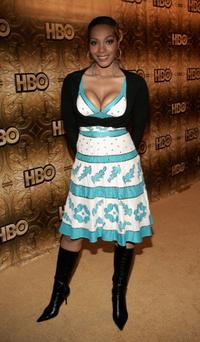 Nona Gaye at the HBO Golden Globe after party.