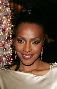Nona Gaye at the afterparty of the premiere of