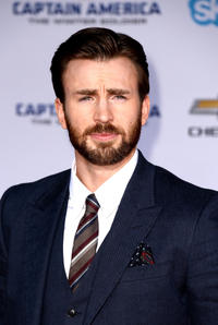Chris Evans at the California premiere of